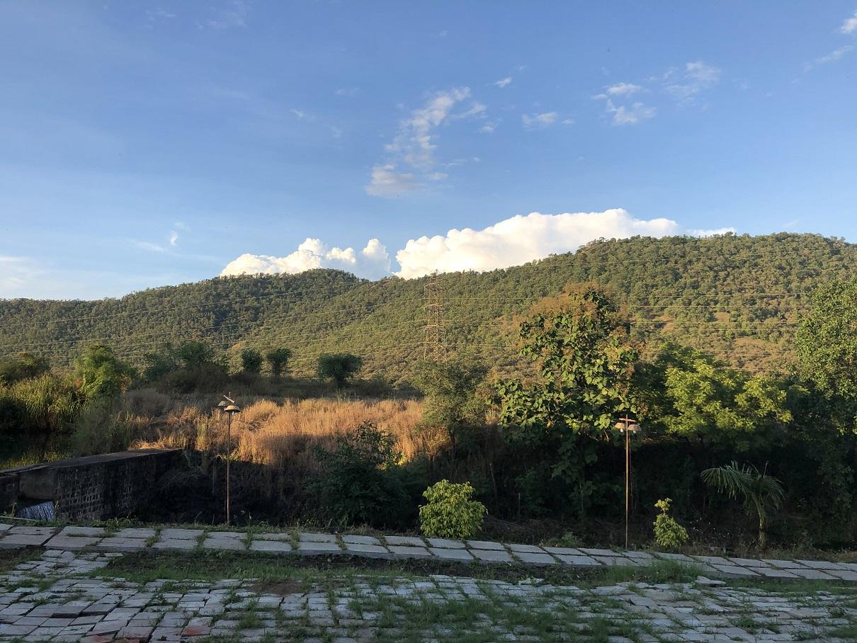 The Vindhyachal Mountain Range